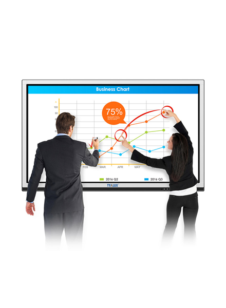 84 inch interactive touchscreen display