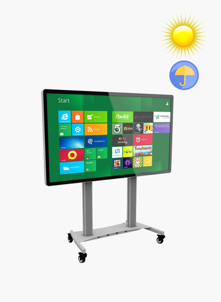 metal frame interactive whiteboard