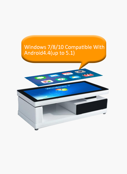operating system touch table