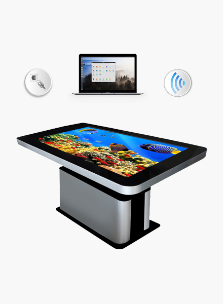 remote upgrade touch table